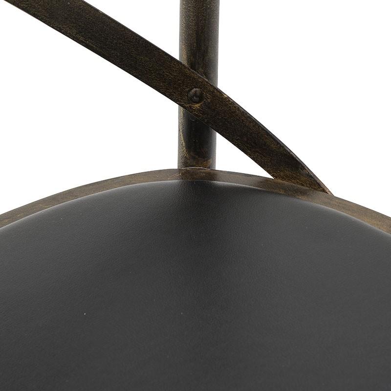 Дървен трапезен стол Бистро в 3 цвята