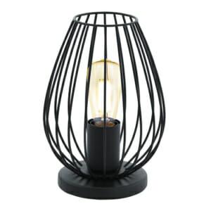 Винтидж настолна лампа тип лале серия Newtown