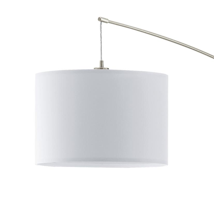 Абажур на бял лампион серия Nadina