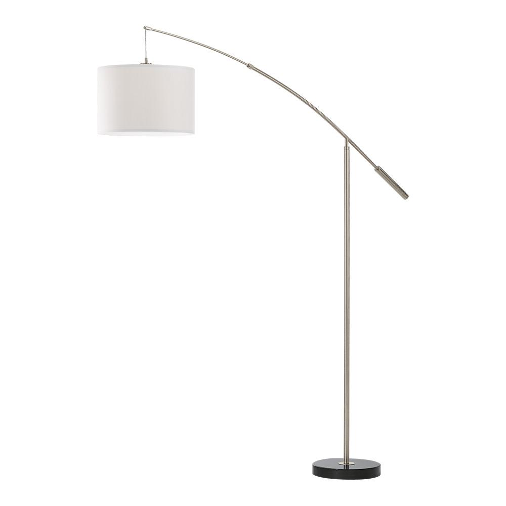 Висок бял лампион серия Nadina