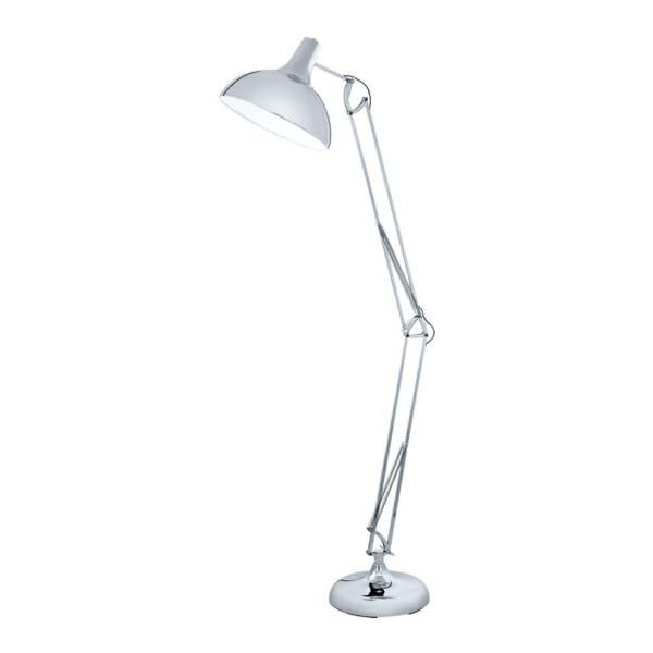 Висок лампион с регулируема височина в цвят хром серия Borgillio