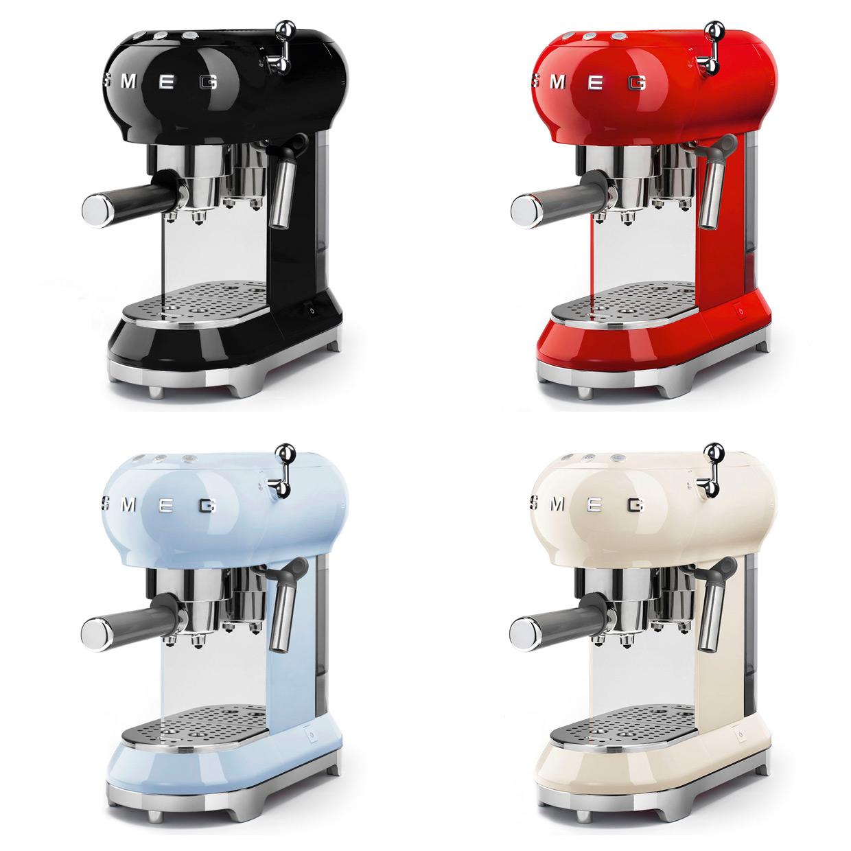 Кафемашина за еспресо SMEG (4 цвята)