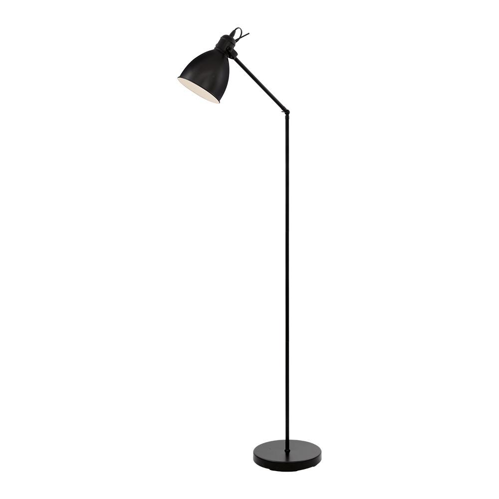 Метален черен лампион в индустриален стил серия Priddy