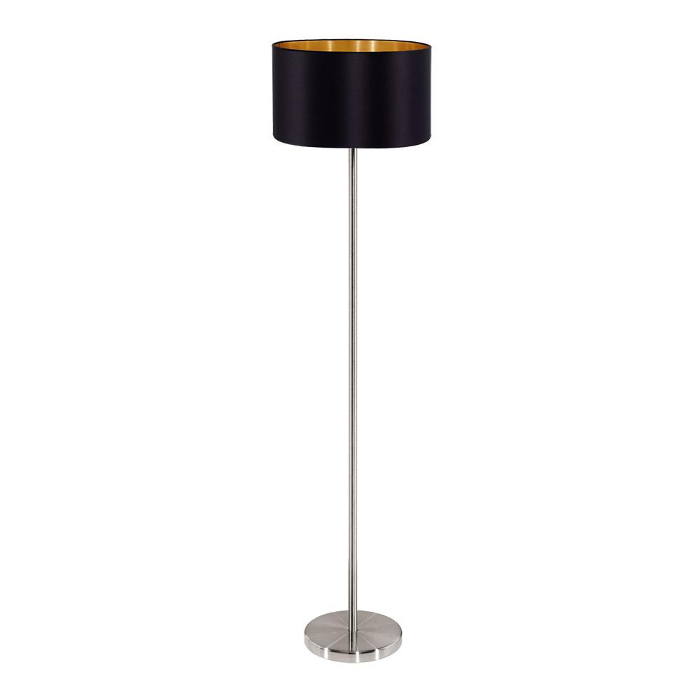 Модерен декоративен лампион в черно и златно серия Maserlo