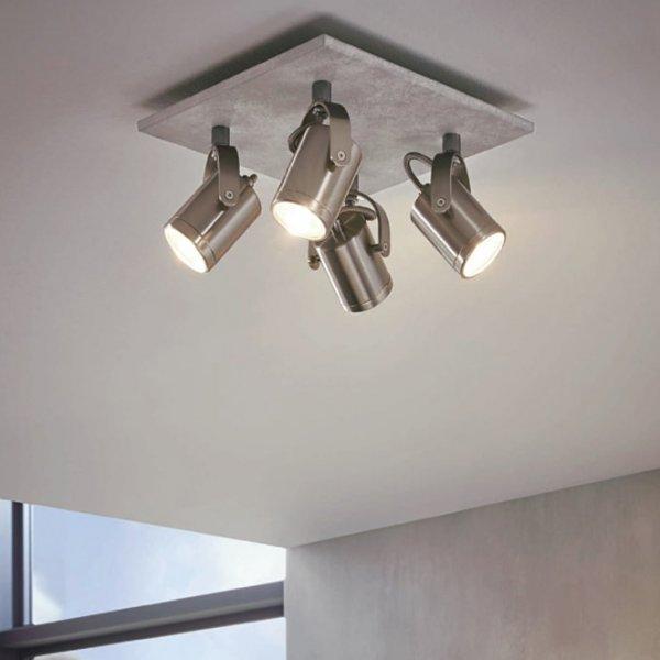 Модерно LED спот осветително тяло за офис серия Praceta