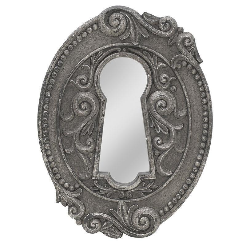 Огледало за стена като ключалка