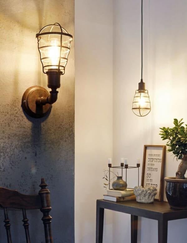 Осветителни тела в индустриален стил серия Port Seton
