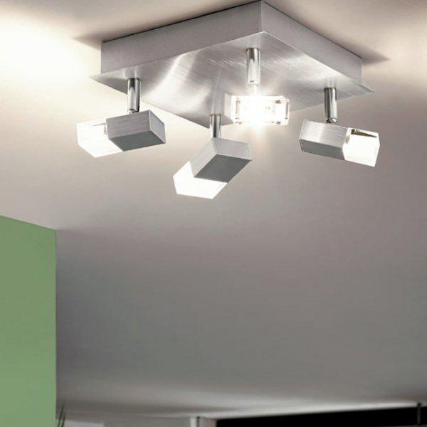 Модерен офис с LED спот плафон серия Gemini