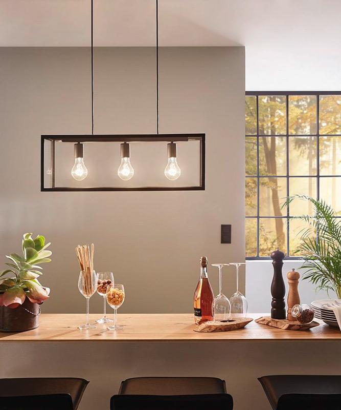 Декоративен пендел във формата на стъклена кутия серия Charterhouse