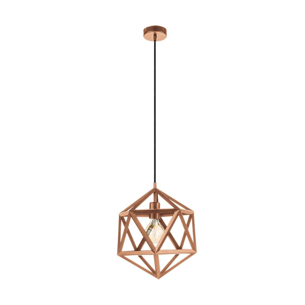 Пендел с геометрична форма серия Embleton - цвят мед