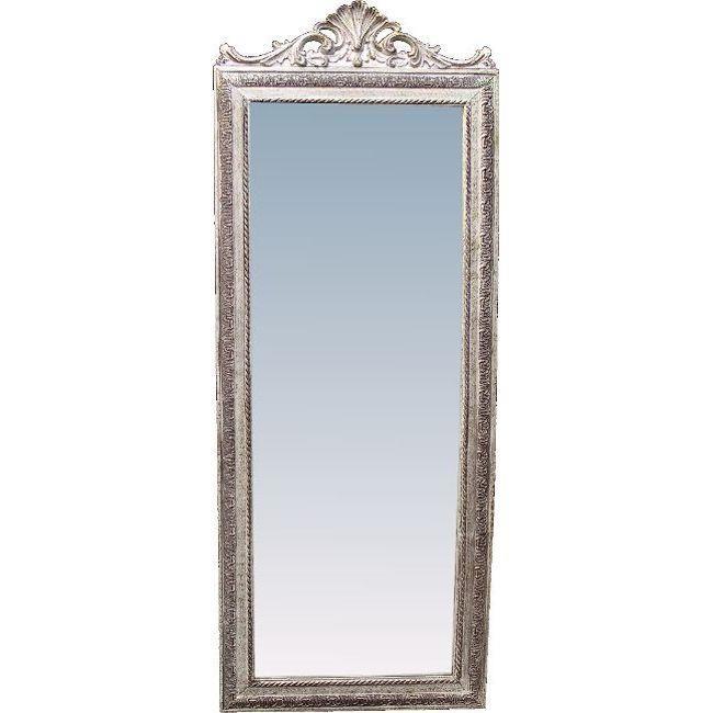 Стенно огледало - голямо, сребристо