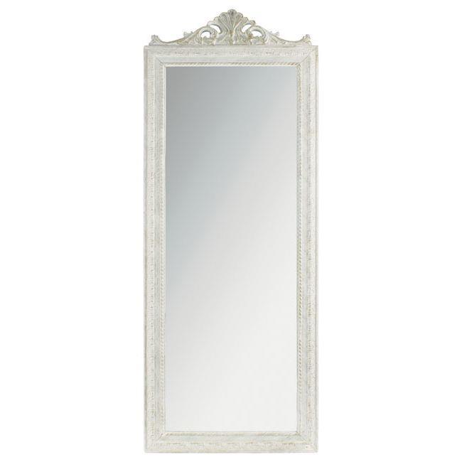 Стенно огледало - голямо, бяло