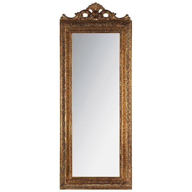 Стенно огледало - малко, бяло