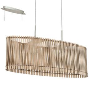 Стилен пендел от дърво във формата на елипса серия Sendero