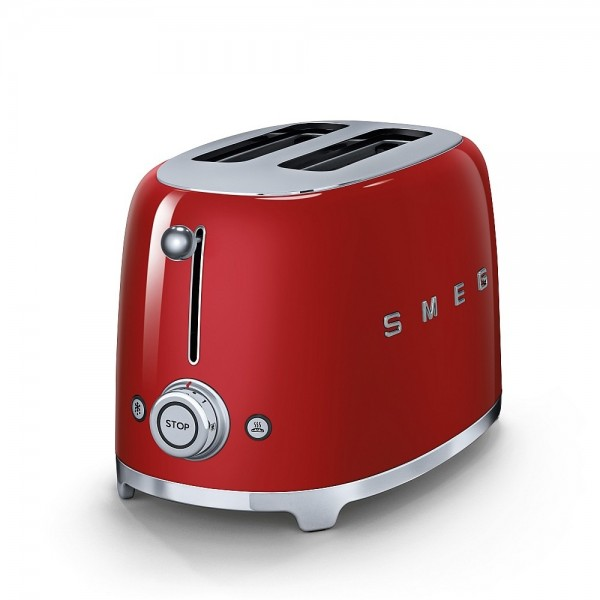 Червен тостер отстрани