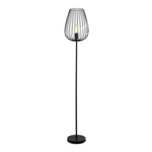 Черен винтидж лампион тип лале серия Newtown