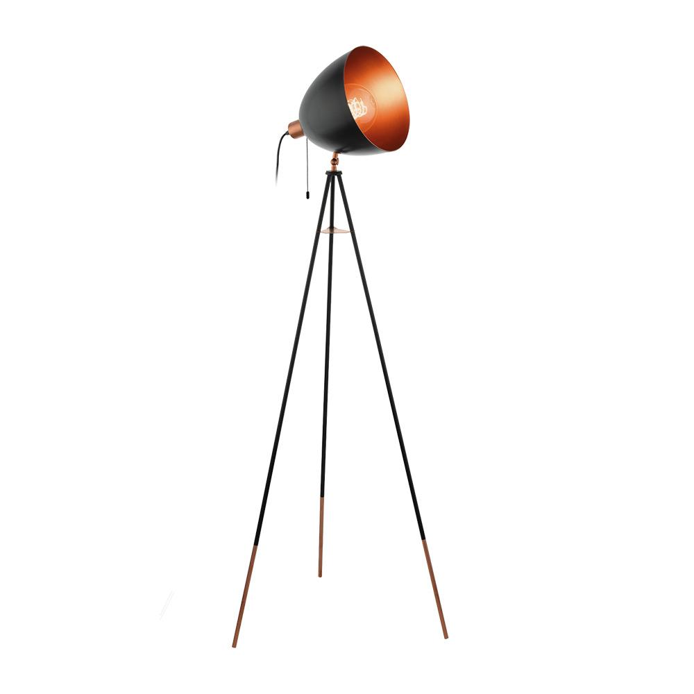 Черен лампион тип трипод-серия Chester