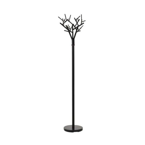 Черна закачалка за антре като дърво с клони