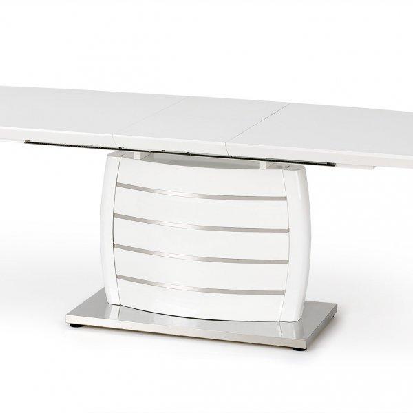 Бяла правоъгълна маса