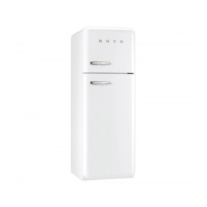 Бял хладилник с горна камера SMEG