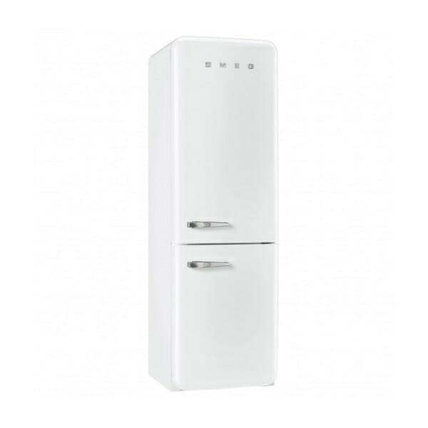 Бял хладилник с фризер SMEG