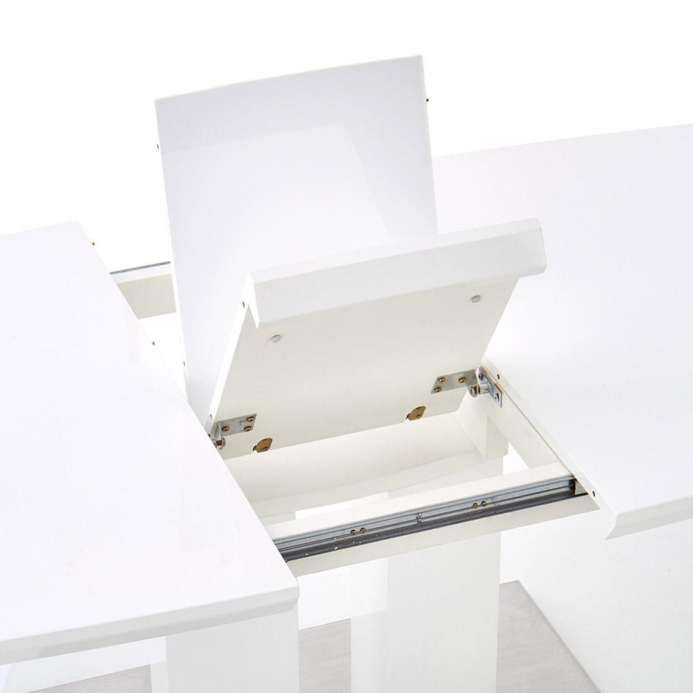 Бяла трапезна маса Лина - механизъм
