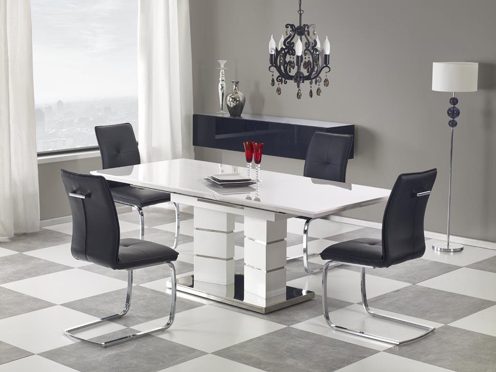 Елегантна трапезна маса Лилия с контрастни столове