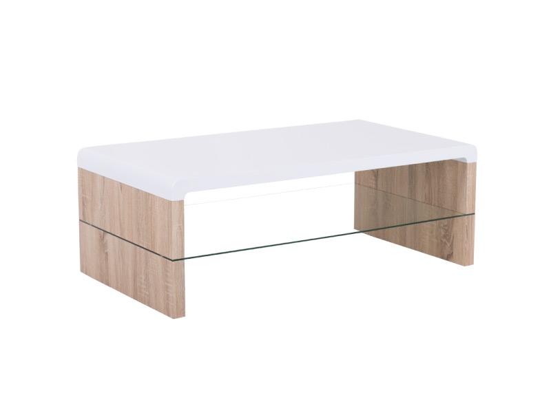 Модерна холна маса с бял плот