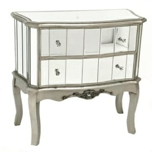 Огледален шкаф с 2 чекмеджета серия Glamour