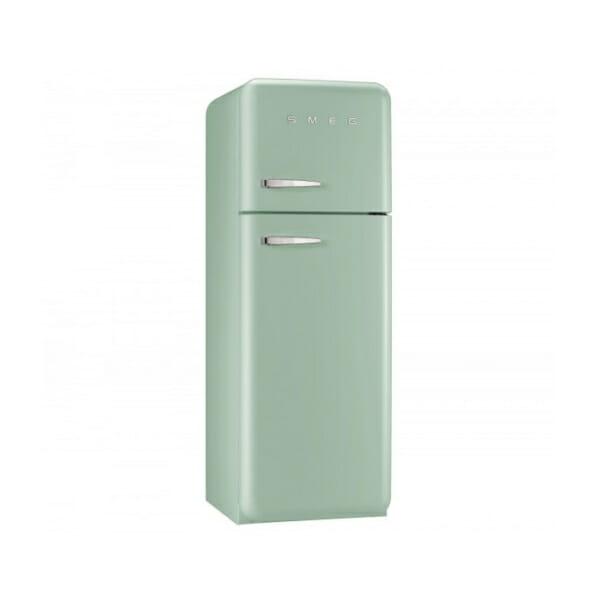 Пастелно зелен хладилник с горна камера SMEG