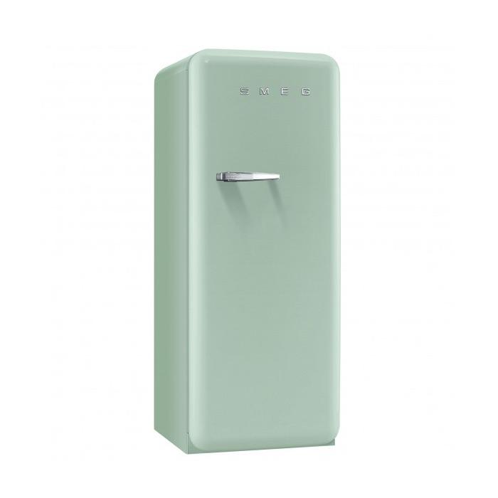 Пастелно зелен хладилник Smeg в ретро стил от 50те