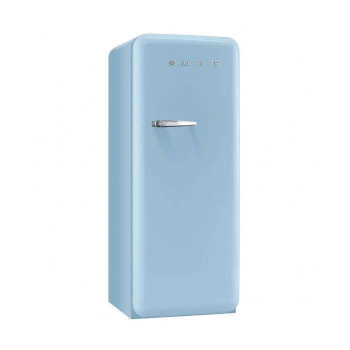 Пастелно син хладилник Smeg в ретро стил от 50те
