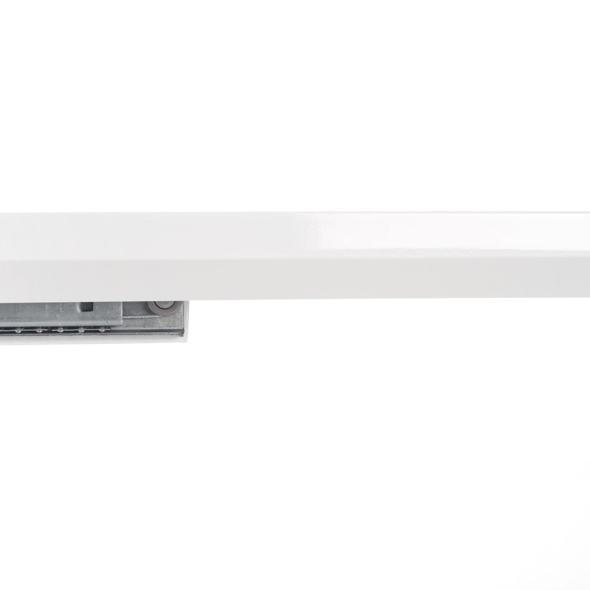 Разтегателна трапезна маса в бяло Стил - плот
