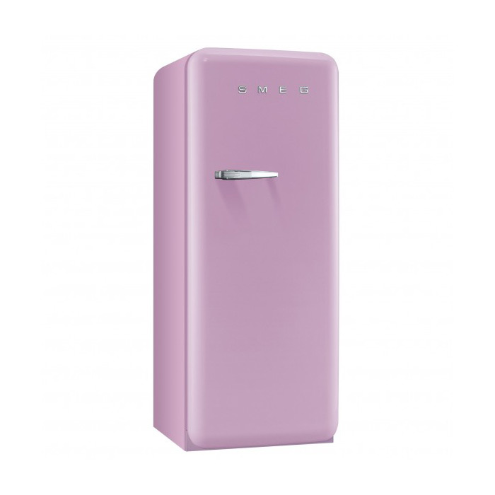 Розов хладилник Smeg в ретро стил от 50те