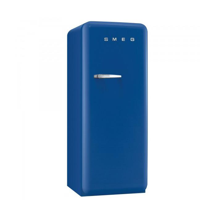 Син хладилник Smeg в ретро стил от 50те