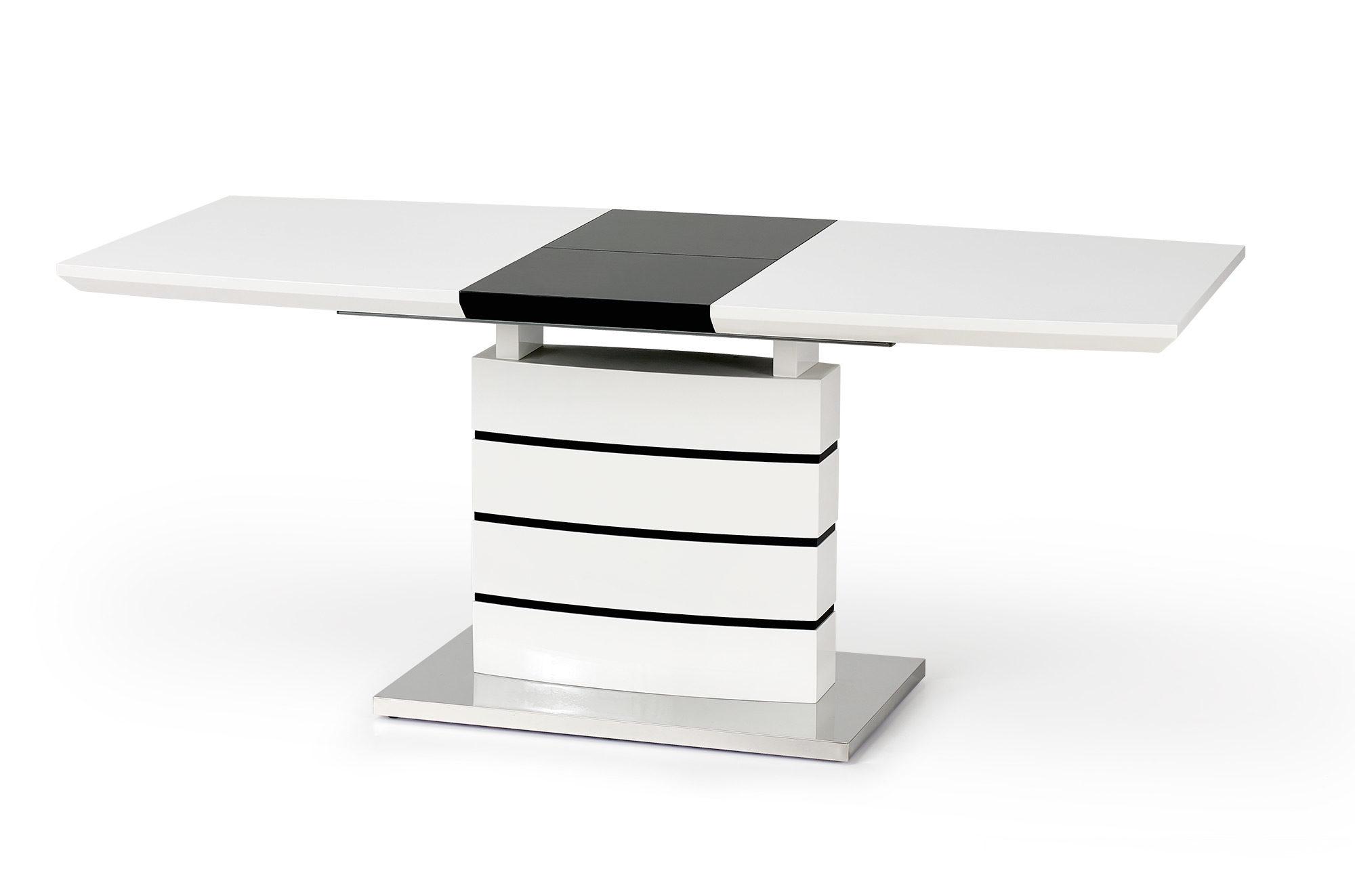 Трапезна маса в черно и бяло Нора