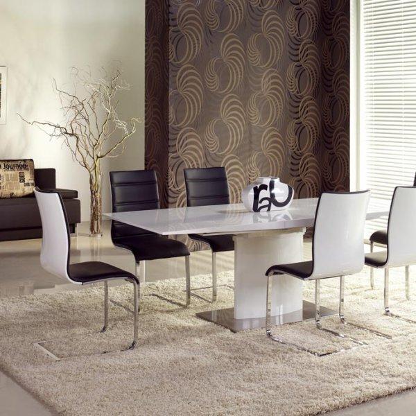 Красива бяла маса Софи - със столове