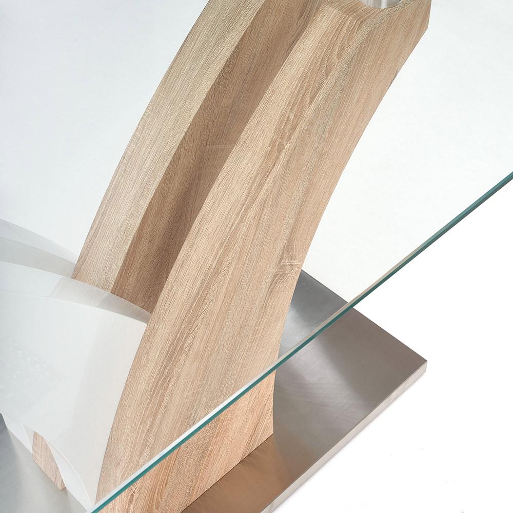 Стъклена маса Рита - ламинирана основа