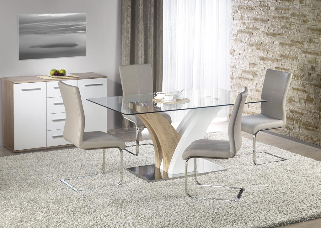 Стъклена маса Рита - с 4 стола