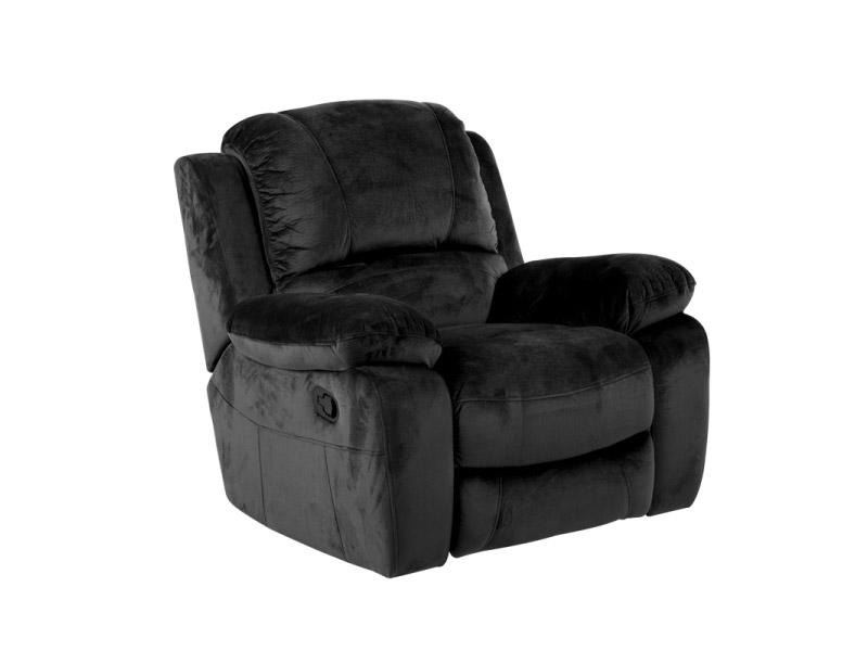 Тъмен фотьойл с люлееща функция и релакс механизъм Гея-снимка отпред