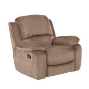 Бежов фотьойл с люлееща функция и релакс механизъм Гея