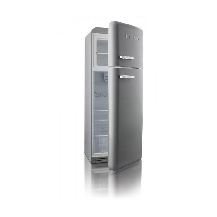 Хладилник с горна камера SMEG-отворен
