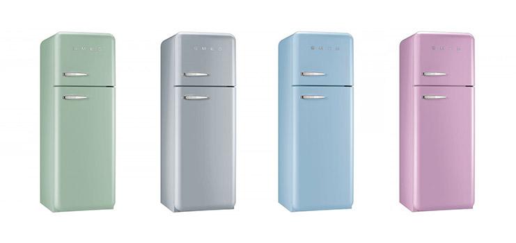 Хладилници с горна камера SMEG