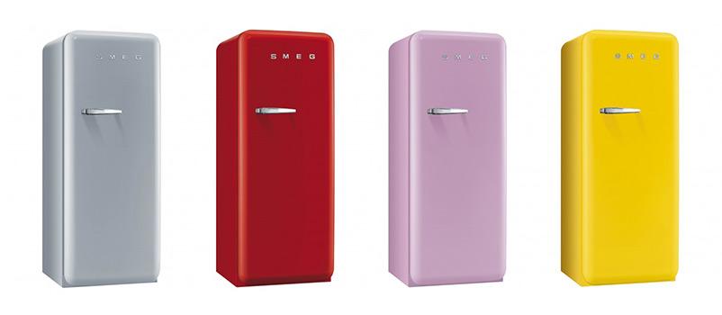 Цветни хладилници SMEG