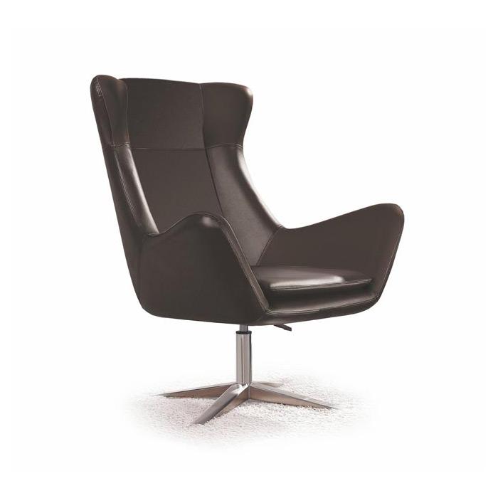 Черно кресло от еко кожа Primus