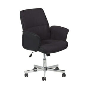 Черно офис кресло Кармен