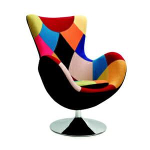 Шарено кресло пачуърк бътърфлай