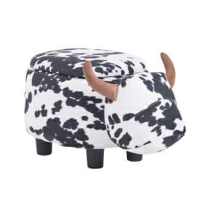 Детска табуретка във формата на крава