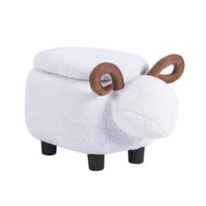 Детска табуретка във формата на овен