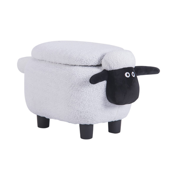 Детска табуретка във формата на овца